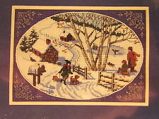 New Dimensions The Gold Collection Counted Cross Stitch Kit 6816 A Winter Scene