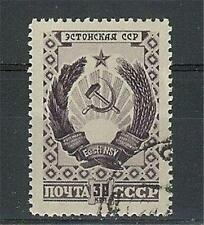 Russia 1947 Sc# 1108  Arm of  Estonia Republic NH CTO