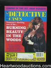 Detective Cases Apr 1995 Bad Girl Cover - High Grade