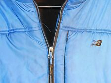 New Balance Blue Puffer Polyester Outdoor Performance Hooded Jacket Size: XL