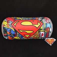 SUPERMAN Design Cushion Bolster Bedroom Travel Pillow Soft  Comfy Kids 40cm