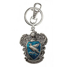 Harry Potter House of Ravenclaw Crest Logo Colored Pewter Keyring Keychain NEW