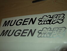 Mugen Stickers for Honda Civic/CRX  x 2