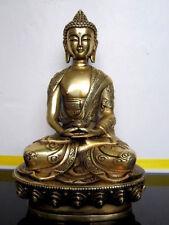 Tibet Tibetan Buddhis Amitabha bronze buddha statue