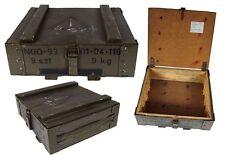 Polnische Munitionskiste Holzkiste oliv gebraucht Munitionskiste Holztruhe
