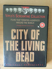 CITY OF THE LIVING ~ 1980 Lucio Fulci Italian Horror / DPP Video Nasty UK DVD