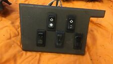 Range Rover Classic Window Switch Panel Complete
