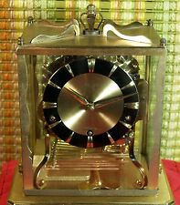 Schatz 8day 1/4 hour repeater triple chime clock in excellent running condition