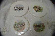 CURRY & IVES Electric Round Stove Burner Covers, Set of 4 CERAMIC