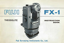Fuji FX-1 Instruction Manual