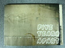 FIVE YEARS by APART LONDON. DESIGNED BY SLIPMODE.COM UK Postage £3.25
