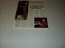 G235 MARTHE MERCADIER '1994 FRENCH CLIPPING