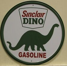 SINCLAIR DINO Gasoline Metal Sign dino vintage style logo gas & oil        207