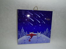 Ceramic Cork Back Tile Trivet Hot Pad Tomte Bunny Shooting Star Eva Melhuish #20
