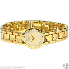 RAYMOND WEIL GENEVE 3740-1 Ladies 18K Gold Electroplated Watch Pre-Owned