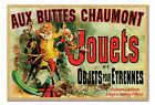 Framed Aux Buttes Chaumont Jouets As Seen On Friends Poster Ready To Hang Frame