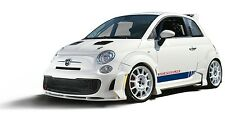 FIAT 500 Abarth 7 Piece Body Kit, Exclusive New Item, fits 2012-2016