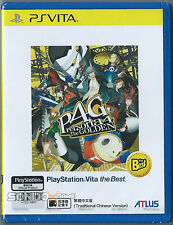 Persona 4: Golden Asia HK Chinese subtitle Best version PSV PSVita NEW