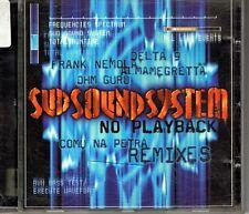 SUD SOUND SYSTEM NO PLAYBACK COMU NA PETRA REMIXES CD