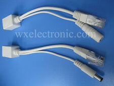 5 Sets passive POE injector/splitter PoE passive cable for camera 2.1mm*5.5mm