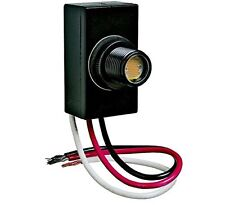 FLUSH MOUNT DUSK DAWN BUTTON PHOTO CONTROL EYE PHOTOCELL 120V RAINTIGHT