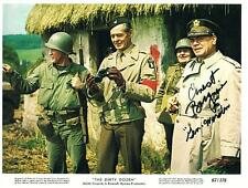 Hand Signed 8x10 original Lobby Card photo ERNEST BORGNINE Dirty Dozen + my COA