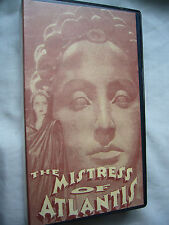 THE MISTRESS OF ATLANTIS aka THE LOST ATLANTIS G.W. Pabst VHS SMALL BOX