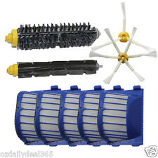 AeroVac Filters 3 Brushes for 600 iRobot Roomba 620 630 650 660 670 680 690
