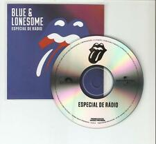 ROLLING STONES 'BLUE & LONESOME' RARE BRAZILIAN  8 TRACK SAMPLER CD PROMO
