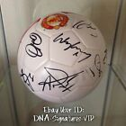MANCHESTER UNITED TEAM SIGNED BALL WAYNE ROONEY SIGNED + MORE COA SEE PROOOF (A
