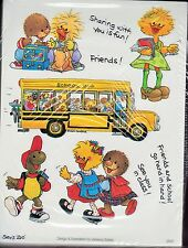 Suzys Zoo Stickers 250 Sheets School Bus Friends Sharing