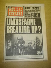 NME 1973 MAR 31 LINDISFARNE FACES ROD STEWART GREG LAKE ELP JEFF BECK HUMBLE PIE