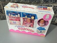 FAMOSA  Mini Nenuco Doll Muneca + Little House Piccola Casa Nib Nuovo In Box
