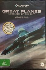 GREAT PLANES LEGENDS OF THE SKY VOLUME TWO R4 PAL SEALED BRAND NEW