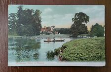 MEDMENHAM ABBEY ON THAMES 1905 POSTCARD