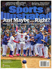 Chicago Cubs Javier Baez Sports Illustrated Magazine 2016 Newstand NO LABEL
