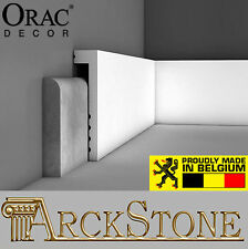 ARCKSTONE Copri Battiscopa Parete Arredo Bianco Orac Decor Luxxus Axxent SX171