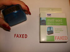 DORMY MOTIF OFFICE WORD STAMPS SELF INKING,ACCOUNTS,BUSINESS,SCHOOL,WAREHOUSE