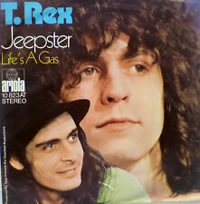 """7"""" 1971 GLAM KULT IN VG+++ ! T. REX : Jeepster"""