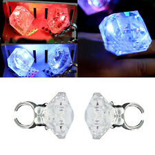 Vogue Unisex Night Hen Party Colorful Accessories Flashing Plastic Ring Jewelry