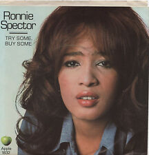 RONNIE SPECTOR -TRY SOME BUY SOME 1832 APPLE  45 -NEW-BEATLES-GEORGE HARRISON