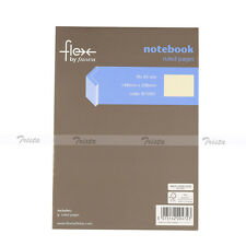 Flex by Filofax Book A5 Thin Ruled Pages Memo Planner Travel Journal Notebook