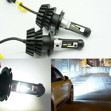 New 2x 6V H4 2000LM LED High Power Car Truck Xenon White Headlight High/Low Beam