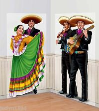 FIESTA MARIACHI BAND AND DANCERS SCENE SETTER PARTY DECORATION MEXICAN SPANISH
