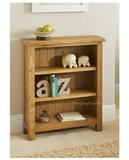 WILTSHIRE OAK SMALL BOOKCASE HOME OFFICE LIVING BED ROOM FURNITURE SHELF UNIT