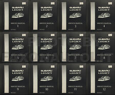 1995-1999 Subaru Legacy and Outback Shop Manual 12 Volume Set OEM Repair Service