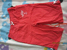 Mom 'n' U Girl Red Pants (Size12/18, age 1-2yo) 1pcs