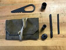 Mosin Nagant original cleaning kit with pouch no brush with Markings