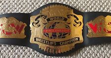 WCW World Cruiserweight Championship Replica Title Belt Figures Toy Adult sized