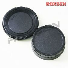 Nikon Body + Rear Lens Cap for D700 D300 D90 D80 D40 D3